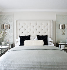 contemporary bedroom by Q. Design - Drapery & Design Resource Centre