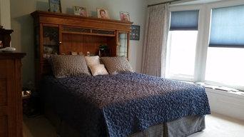 Custom Drapery and bedding