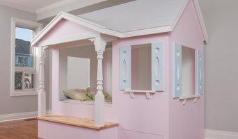 Custom Girl's Bed