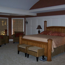 Traditional Bedroom by Michael Vincent Custom Homes, LLC