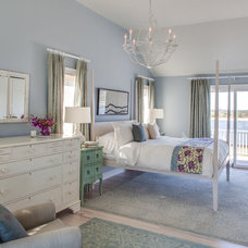Beach Style Bedroom by Stone Creek Builders