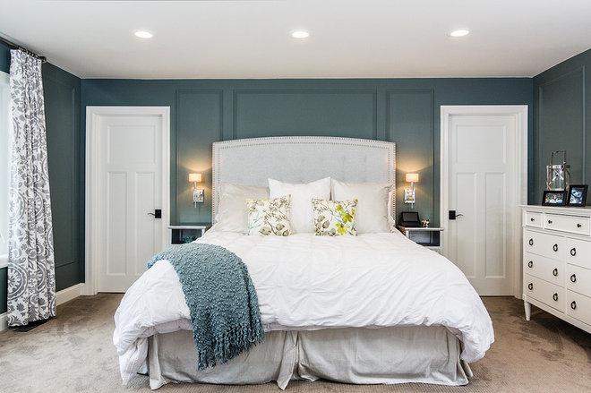 Traditional Bedroom by Lisa Clark Design