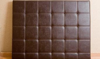 Custom Made Biscuit Tufted Headboard & Top Stitch (