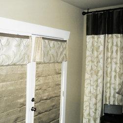 Custom-made drapery panels - A Creative Touch Draperies & Interiors
