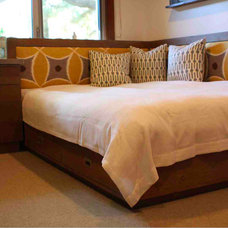 Modern Bedroom by Mortise & Tenon Custom Furniture Store