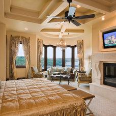 Mediterranean Bedroom by Jenkins Custom Homes