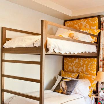 Custom Upholstered Bunk Beds