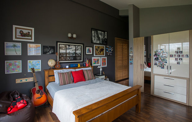 Eclectic Bedroom by Shefali Singh, Architect