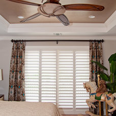 Transitional Bedroom by Beverly Hills Window Tinting and Treatments