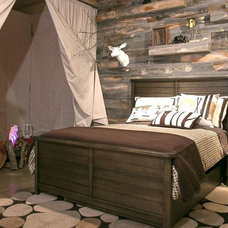 Rustic Bedroom by Stikwood
