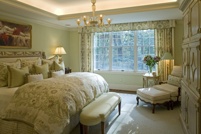 Traditional Bedroom by Penza Bailey Architects