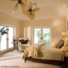 Mediterranean Bedroom by Clifford M. Scholz Architects Inc.