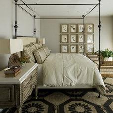 Transitional Bedroom by Cynthia Crossley Interior Designs