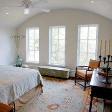 Mediterranean Bedroom by Margaret Donaldson Interiors