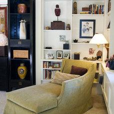 Eclectic Bedroom by JulieO Design