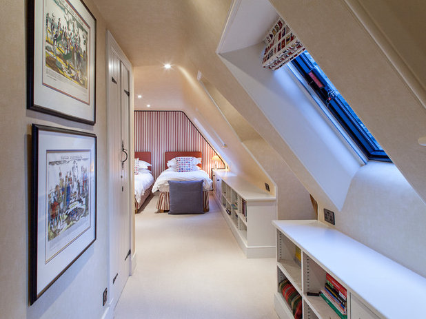 Traditional Bedroom by Maxwell & Company Architects