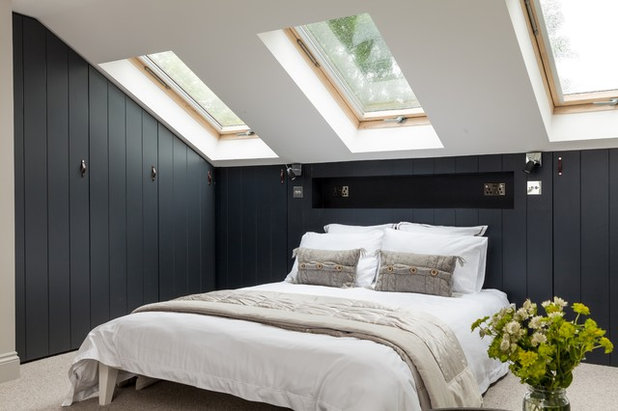 Scandinavian Bedroom by JLB Property Developments