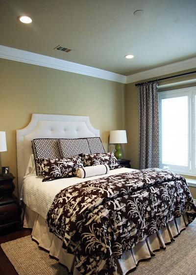 Transitional Bedroom by Emily Johnston Larkin