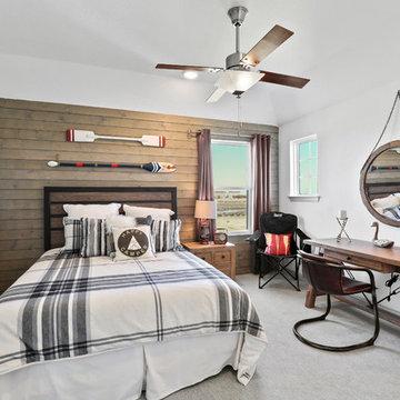 Dallas, Texas | Saddle Ridge - Enclave Tahiti Secondary Bedroom