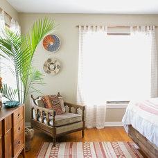 Eclectic Bedroom by Hilary Walker
