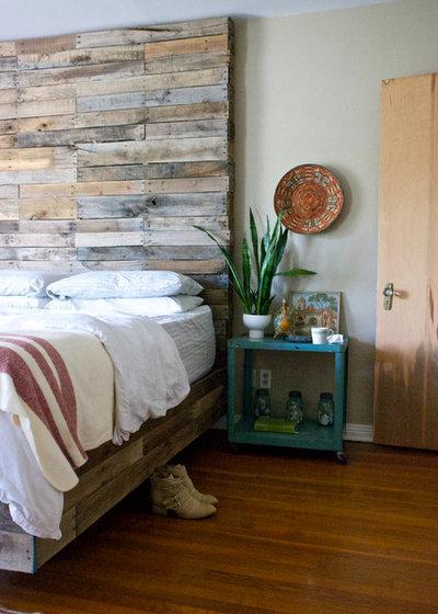 Ideen für rustikal gestaltete Schlafzimmer