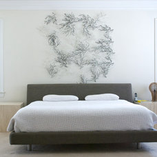 Contemporary Bedroom by Hilary Walker