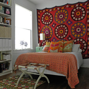 Inspiration for an eclectic bedroom remodel in Dallas