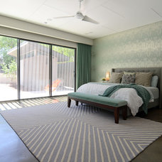 Contemporary Bedroom by Sarah Greenman