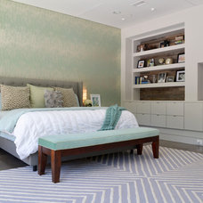 Contemporary Bedroom by Sarah Greenman