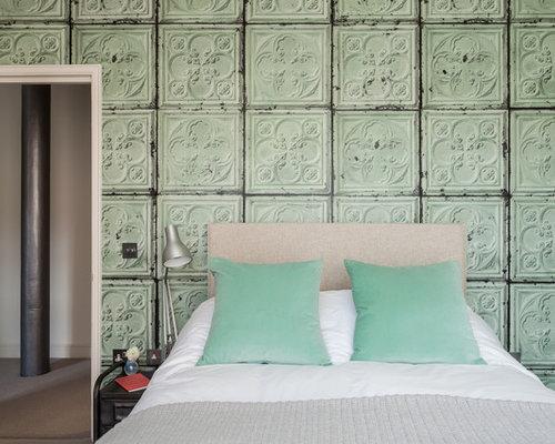 Tin tile houzz - American tin tiles wallpaper ...