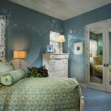 Traditional Bedroom by Michael Trahan Interior Design