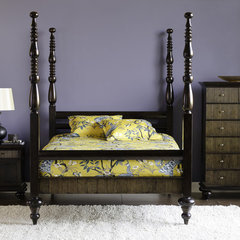 eclectic bedroom by Dania Furniture