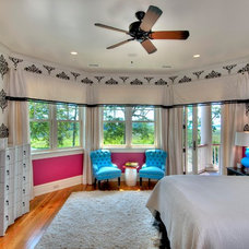 Eclectic Bedroom by Phillip W Smith General Contractor, Inc.