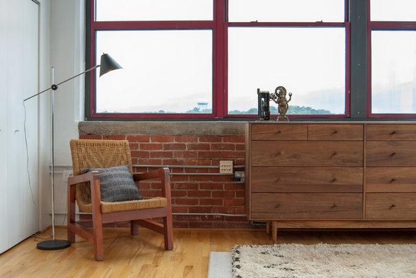 Industrial Bedroom by Adrienne DeRosa