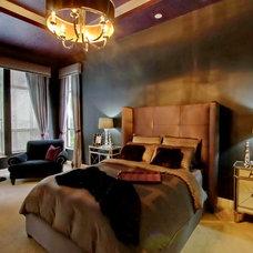 Contemporary Bedroom by cruz interiors inc