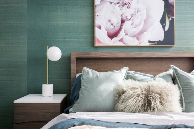 Modern Schlafzimmer by Christina Reed Interiors