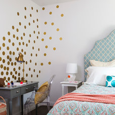 Transitional Bedroom by Scheer & Co.