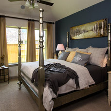 Contemporary Bedroom by Connie Anderson Photography