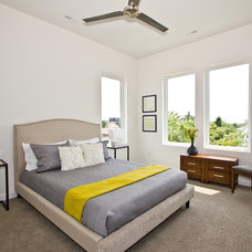 Contemporary Bedroom by plantation building corp