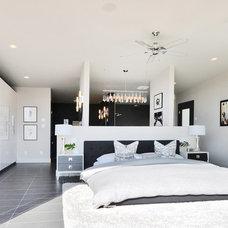 Contemporary Bedroom by Dawna Jones Design