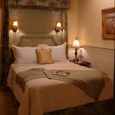 Traditional Bedroom by Sharon Meyer Interiors