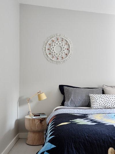 Scandinavian Bedroom by One Girl Interiors