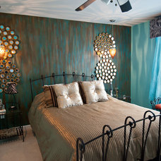 Contemporary Bedroom by Nisha Tailor Interior Design.LLC