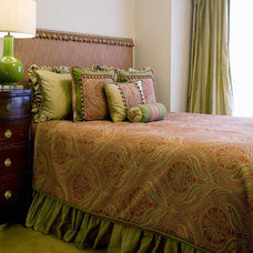 Eclectic Bedroom by Designing Solutions