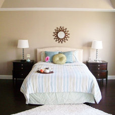 Modern Bedroom by The Staging Fashionista