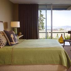 Contemporary Bedroom by Geoffrey De Sousa Interior Design