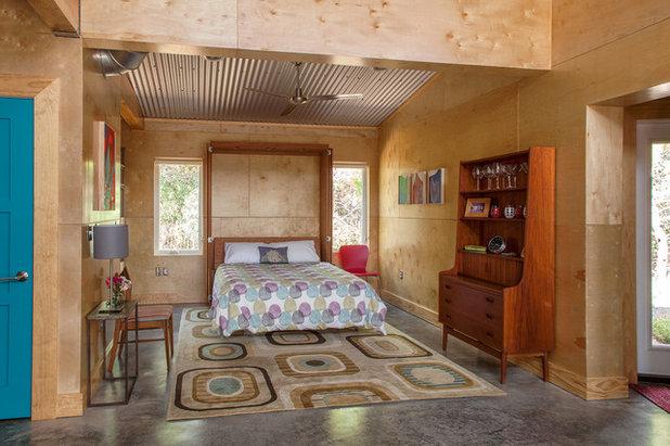 Industrial Bedroom by Greene Design LLC