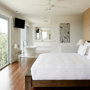 Diseño de dormitorio principal contemporáneo