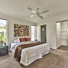Contemporary Bedroom by Mink Home Staging