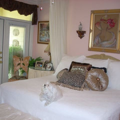 traditional bedroom by Deborah Levy Designs